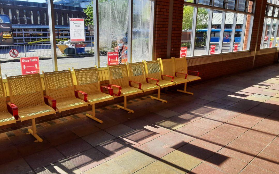 Bus Station Seating: Metool