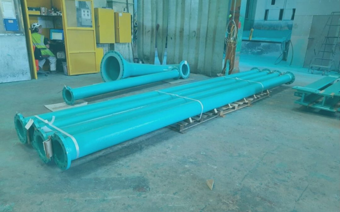 Water Treatment Pipe Restoration: George Green